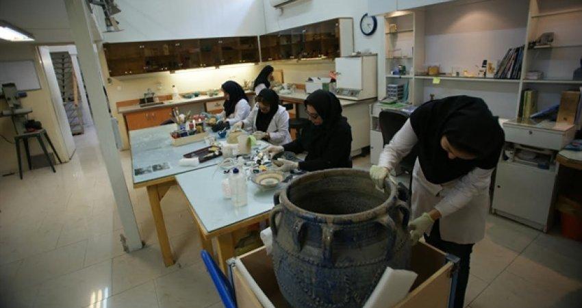 افتتاح آزمایشگاه مرمت و حفاظت پایگاه میراث جهانی شوش