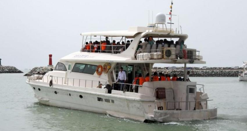 اولین خط گردشگری تفریحی دریایی بندرعباس افتتاح شد