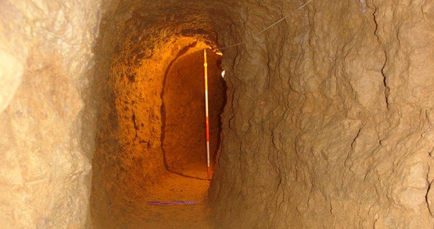 کشف دستکن زیرزمینی با قدمتی حدود 800 سال در کمره خمین