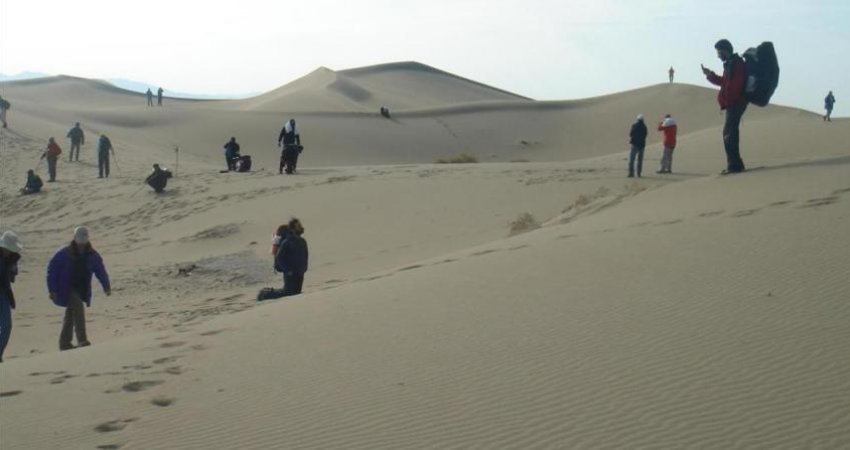 تپه های شنی صادق آباد بافق به ثبت ملی رسید