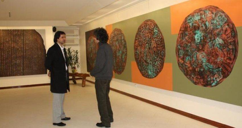 نمایشگاه گروهی نقاشی در آرت سنتر نیاوران