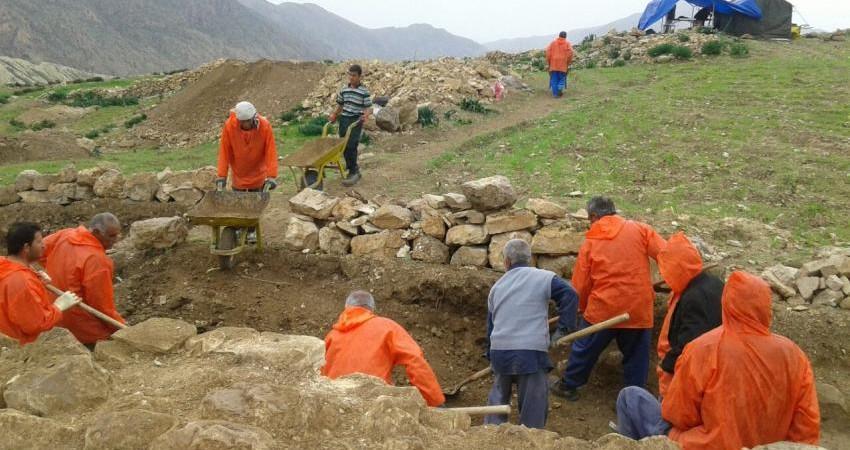 جزئیات کشف آرامگاه خانوادگی باستانی در دره شمی
