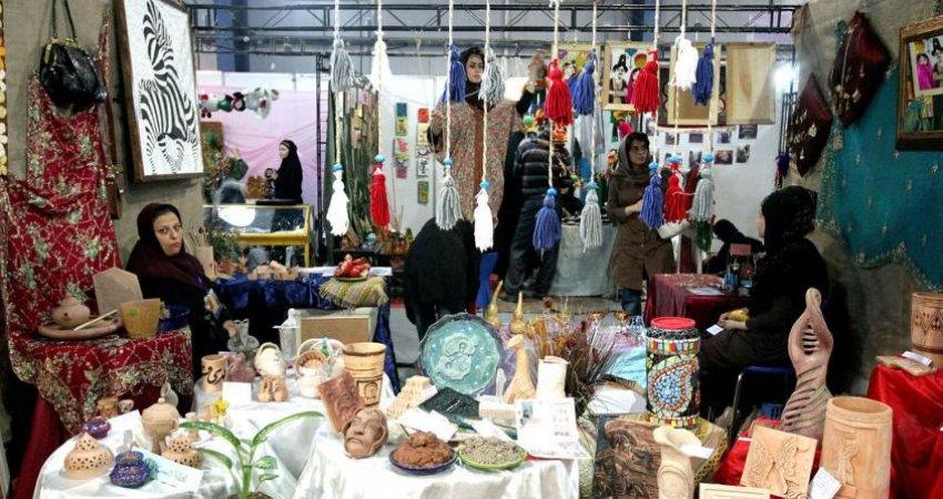 گشایش دوازدهمین نمایشگاه صنایع دستی کشور در اهواز