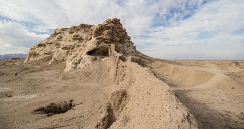 کشف گرمابه ای منحصر به فرد در قلعه سنگ