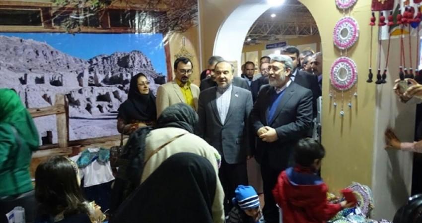 استقبال از غرفه سیستان و بلوچستان در نمایشگاه گردشگری