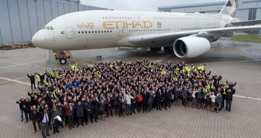 شرکت هواپیمایی اتحاد، برنده جایزه بهترین شرکت هواپیمایی سال