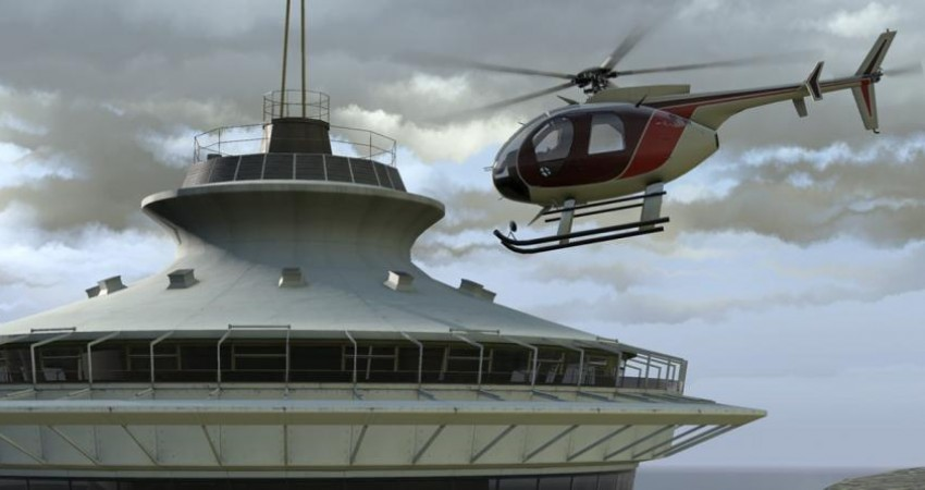 اختصاص 5 فروند بالگرد به صنعت گردشگری هوایی