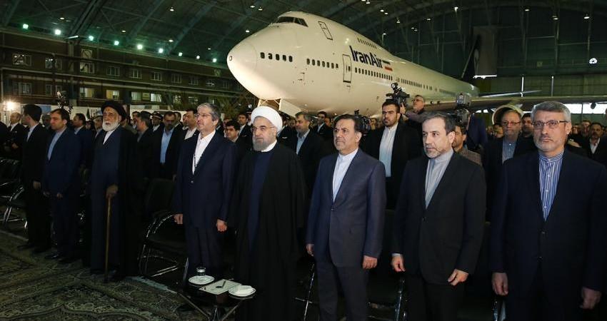 پنجاه و پنجمین سالگرد تاسیس هواپیمایی هما با حضور رئیس جمهور