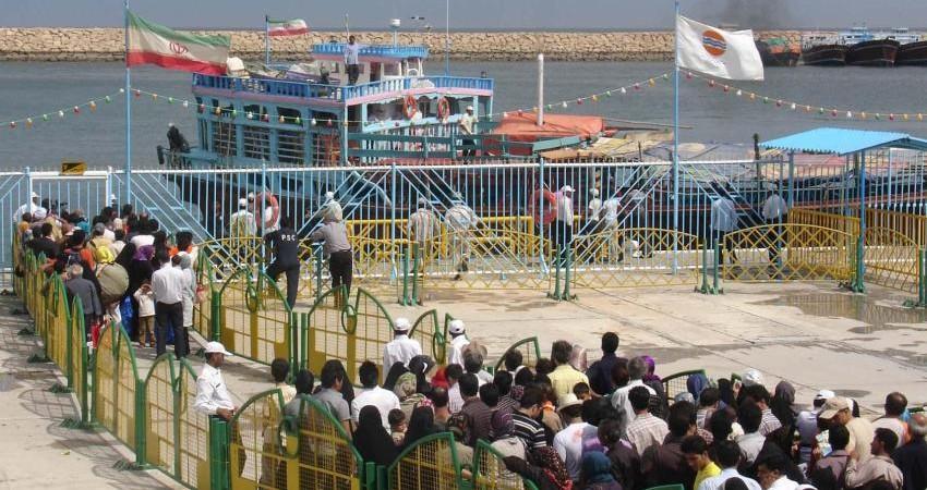رشد 58 درصدی مسافران دریایی کیش