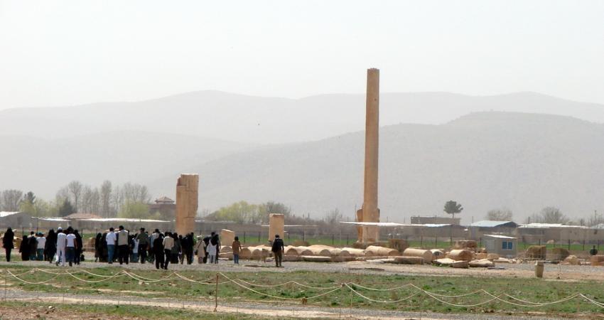 همکاری ایران و ایتالیا برای حفاظت از سازه سنگی پاسارگاد