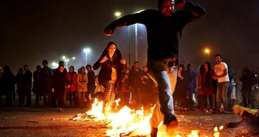 چهارشنبه سوری، شب سرخگون ایرانیان