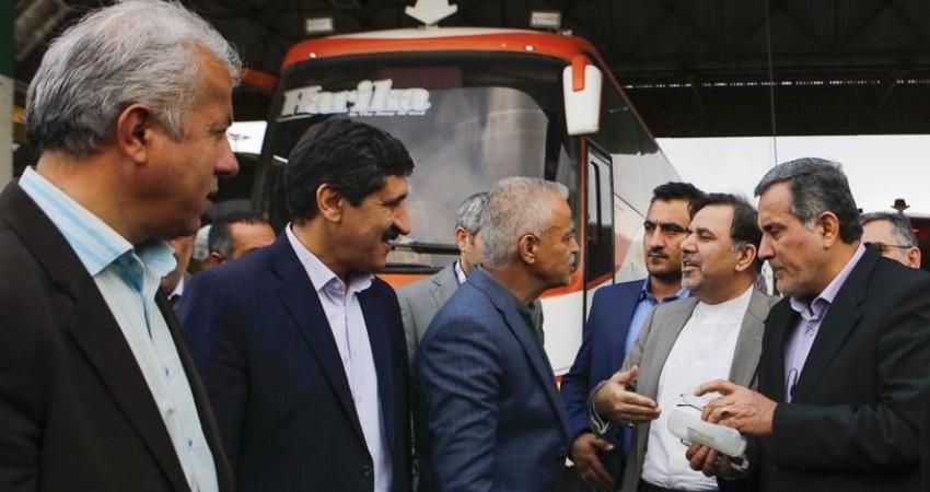 بازدید وزیر راه و شهرسازی از فرودگاه مهرآباد و پایانه غرب