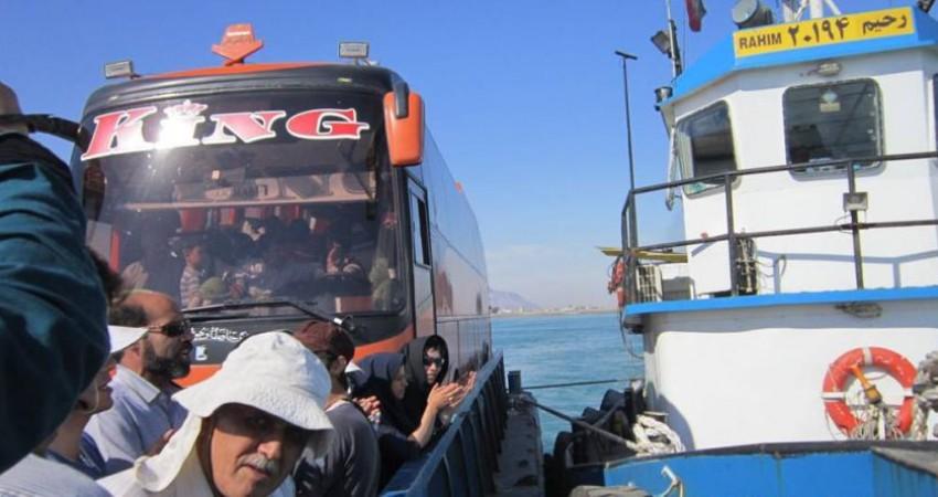 امکان سفر از قشم به بندر خصب عمان با حمل خودرو شخصی