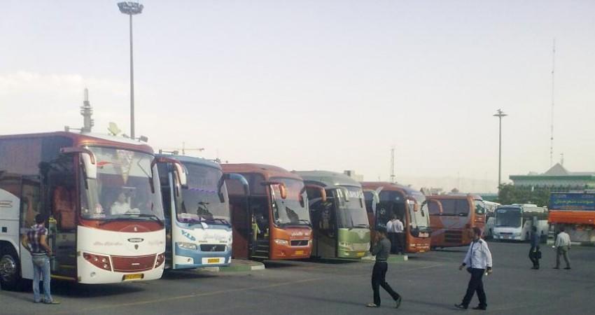 عملکرد ناوگان حمل و نقل عمومی جاده ای در طرح نوروزی