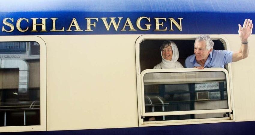 ورود سومین قطار گردشگران اروپایی به ایران