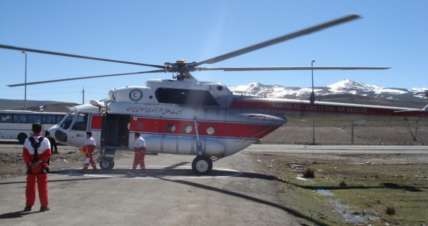اورژانس هوایی لازمه امدادرسانی در ایران