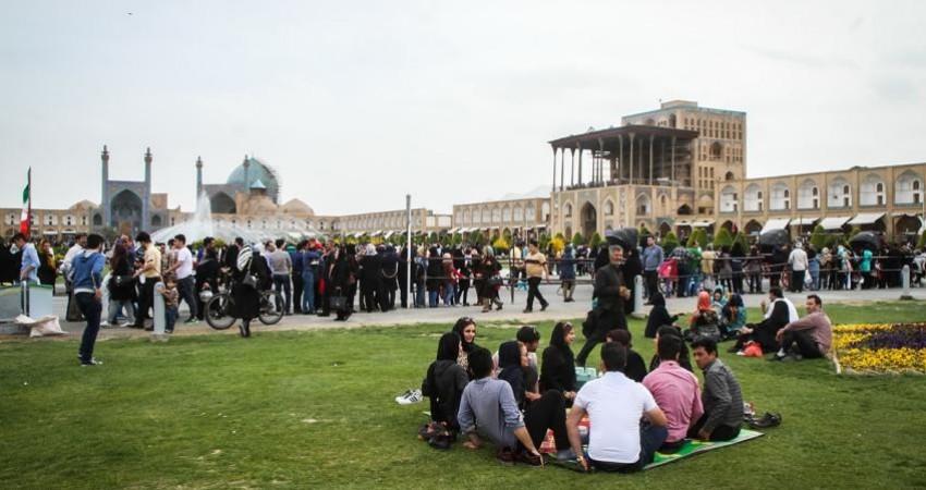 میدان نقش جهان اصفهان پر بیننده ترین بنای تاریخی کشور