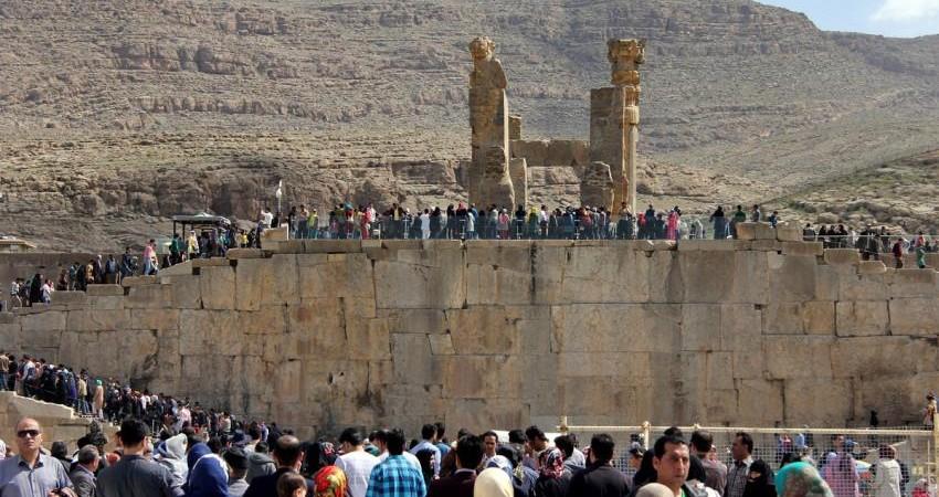 تخت جمشید؛ محبوب ترین جاذبه جهانی ایران برای مسافران نوروزی
