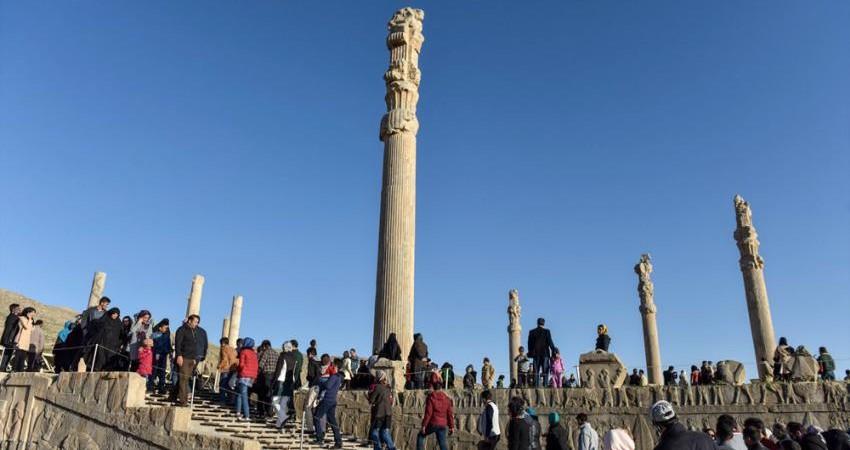 درآمد پایگاه های میراث جهانی ایران در نوروز 95 چقدر بود؟