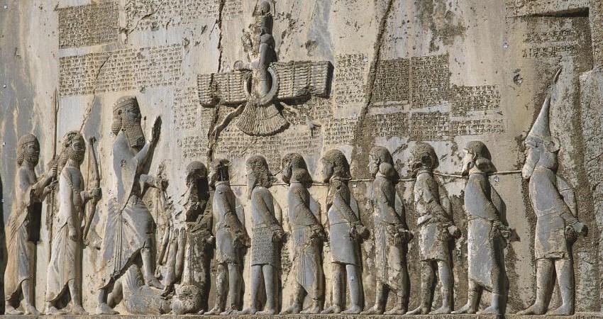 تدوین اطلس کتیبه های ایران باستان