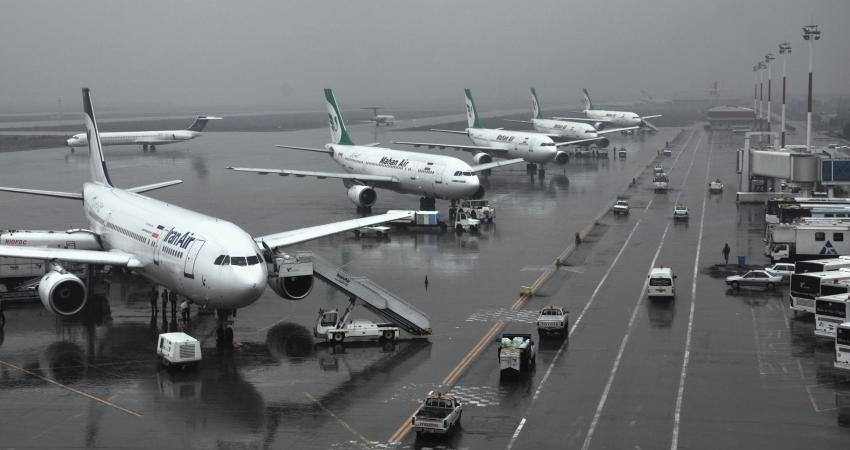 پرواز چند هواپیمای جدید در آسمان ایران