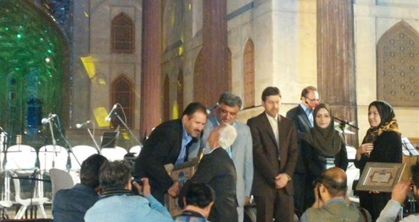 مراسم نکوداشت هفته اصفهان در باغ موزه چهلستون اصفهان برگزار شد