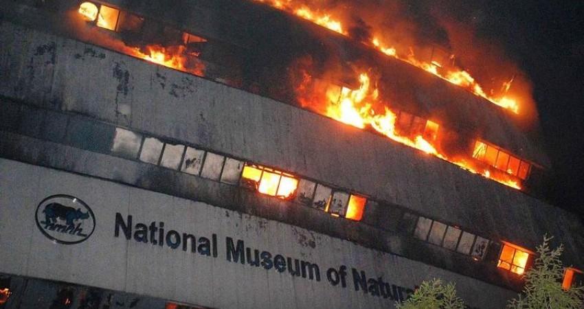 آثار ایرانی از آتش سوزی موزه ملی هند مصون ماندند
