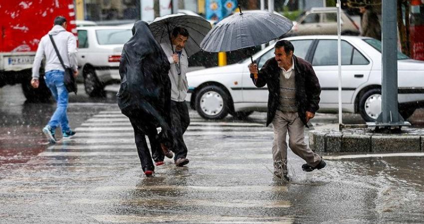 ورود موج بارشی از نوار غربی کشور از فردا