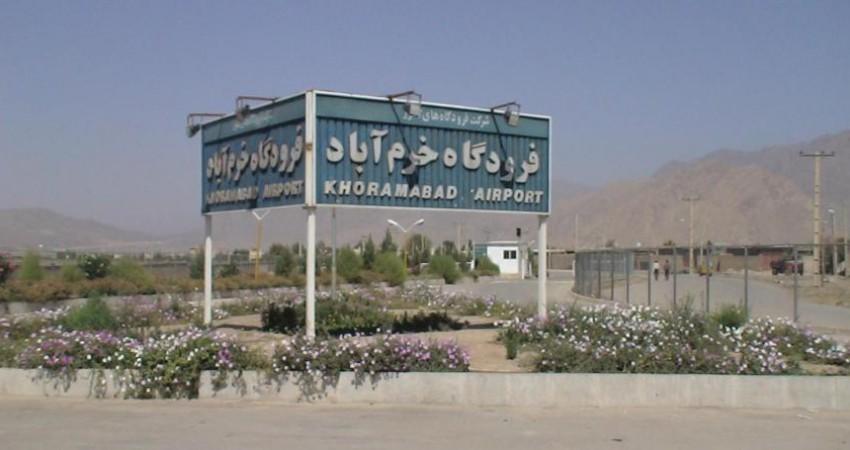 نخستین پرواز سالجاری فرودگاه خرم آباد به عتبات انجام شد