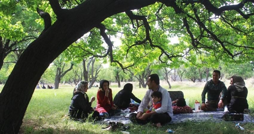 پنجاه بدر آئین سنتی مردم قزوین برای پاسبانی از طبیعت