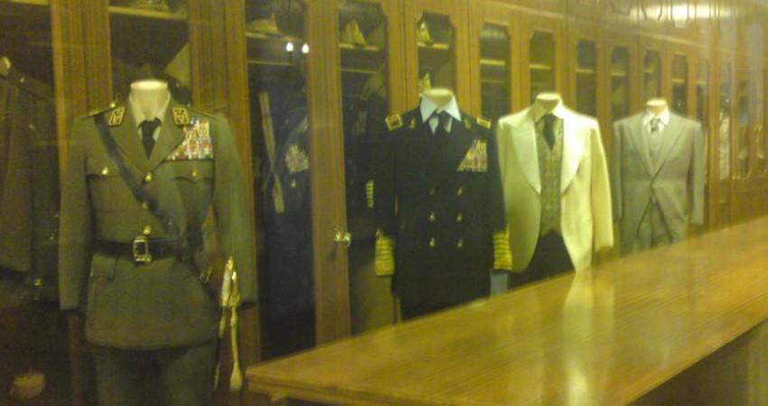 بازگشایی اتاق لباس های محمدرضا پهلوی در کاخ نیاوران