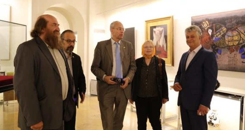 بازدید رئیس ایکوم جهانی از کاخ نیاوران