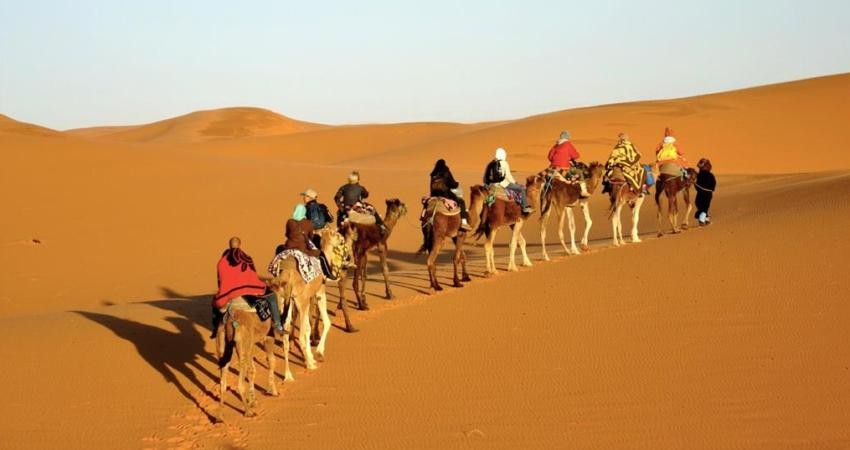 ممنوعیت 4 روزه ورود گردشگران به کویر مرنجاب