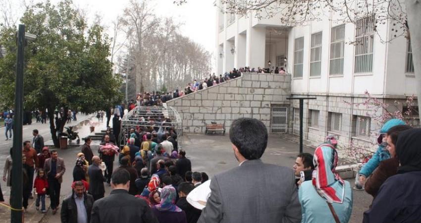 """گردشگران خارجی از """"سعدآباد"""" رو دست خوردند"""