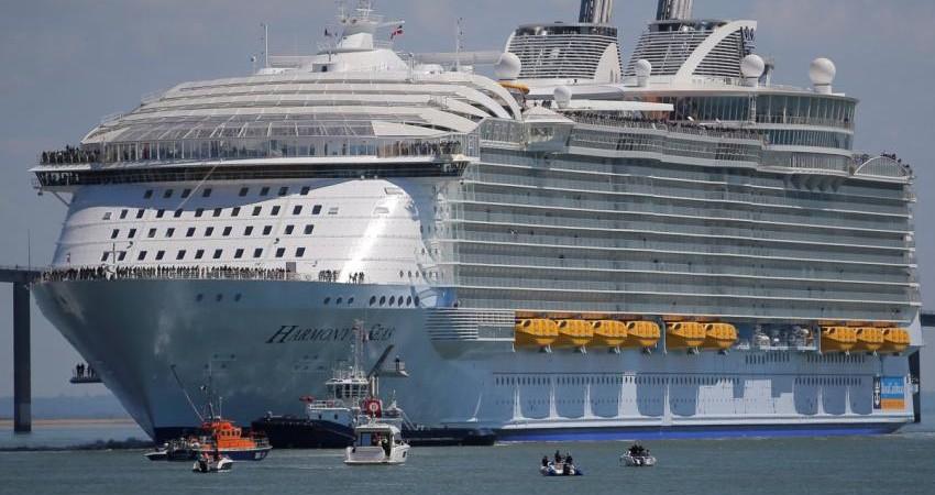 آغاز به کار بزرگ ترین کشتی تفریحی دنیا