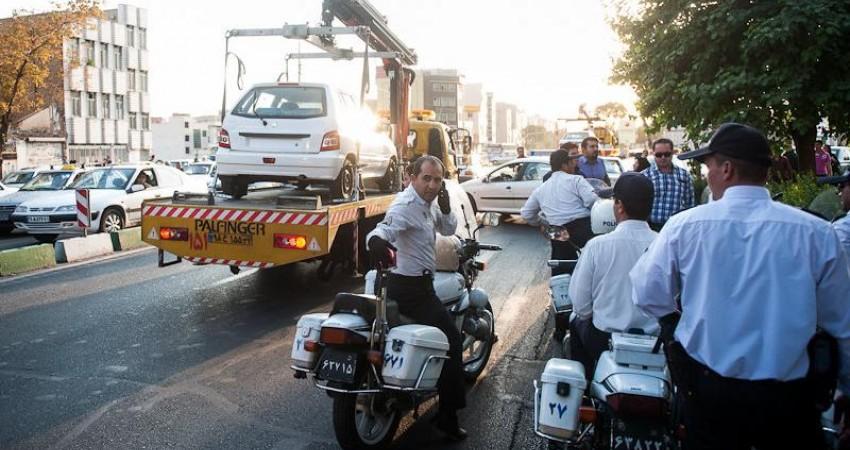 خودروهای پلاک شهرستان با ورود به طرح ترافیک تهران اعمال قانون می شوند