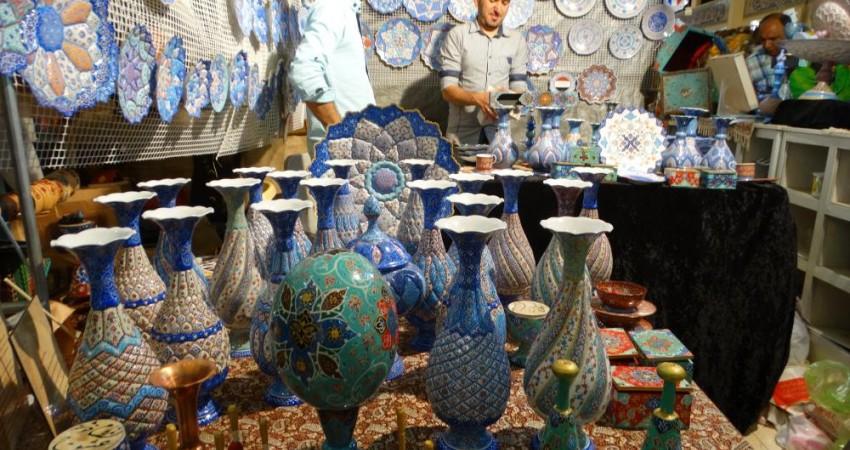 عرض اندام صنایع دستی در فضای مجازی
