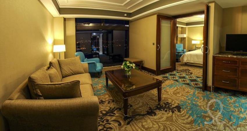 افتتاح هتل های آنا و آتا همزمان با سفر رئیس جمهوری در آذربایجان غربی