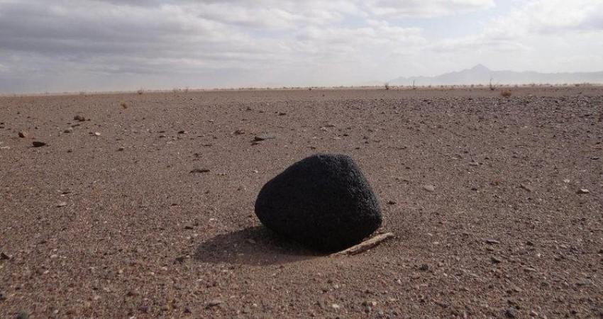 کشف ناخن یک دایناسور و شهاب سنگ در کویرهای خراسان جنوبی