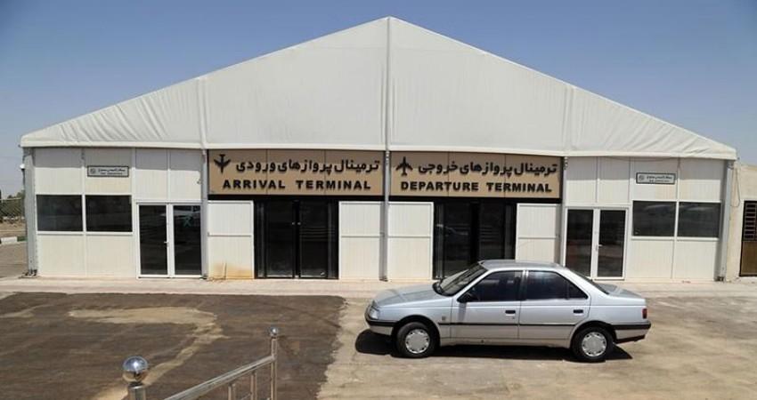 فرودگاه کاشان فعالیت خود را آغاز کرد
