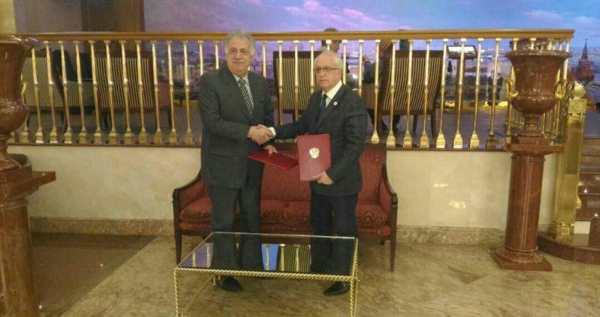 امضای تفاهم نامه سرمایه گذاری در گردشگری بین ایران و روسیه