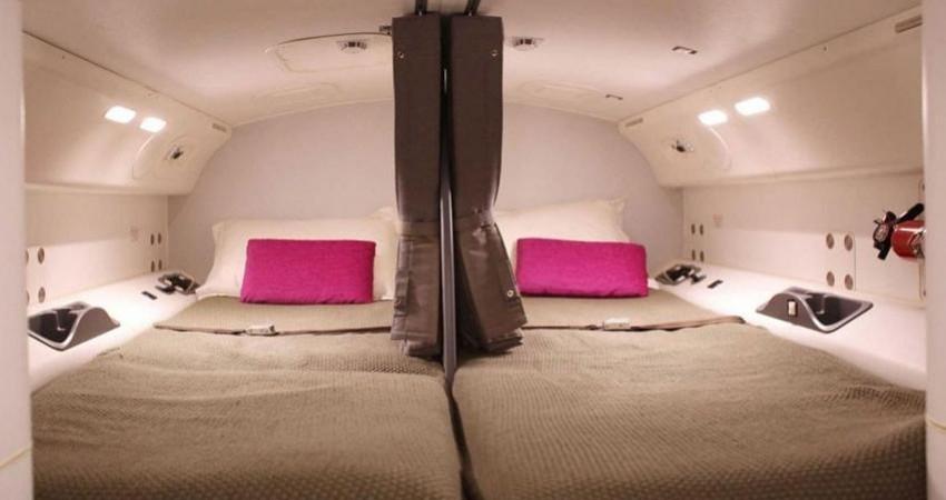 مکان استراحت خدمه پرواز در هواپیمای بوئینگ
