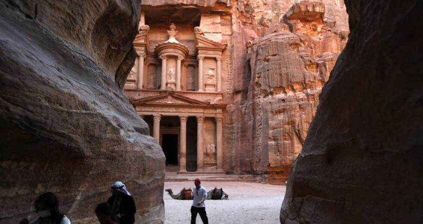کشف معبد مخفی زیر شهر باستانی «پترا»