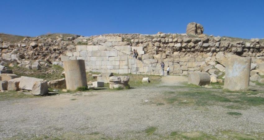 آماده سازی دومین بنای سنگی مورد علاقه گردشگران خارجی
