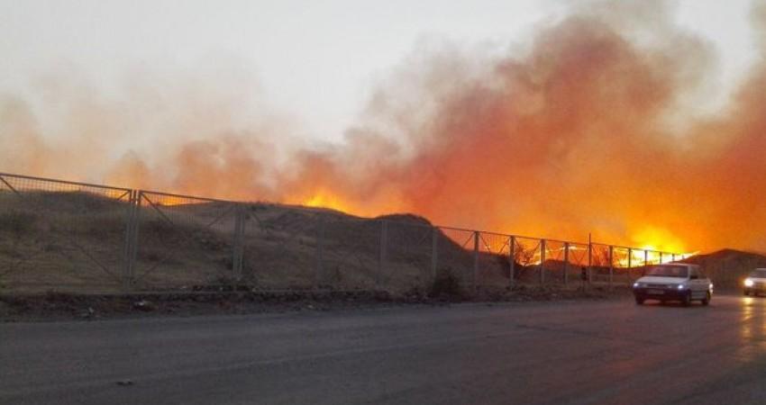 چرا بخشی از شهر ساسانی بیشابور آتش گرفت؟