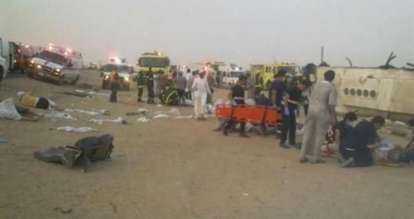 53 کشته و زخمی در مسیر بین ریاض - طائف