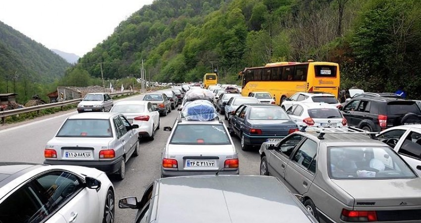 ممنوعیت تردد وسايل نقليه سنگين در محورهای شمالی كشور