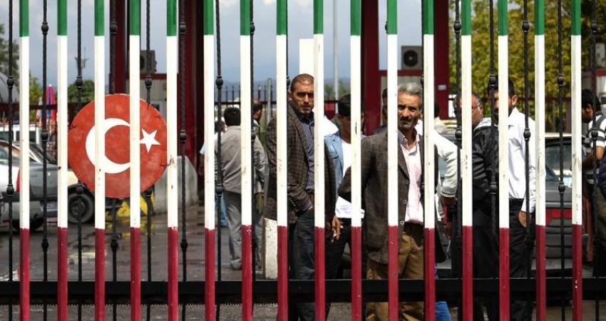 برخورد با بدرفتاری مامور ترکیه ای با مسافران ایرانی