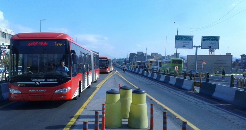 ورود 50 اتوبوس به ناوگان حمل و نقل تهران