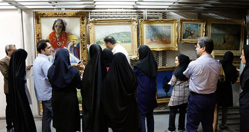 درهای گنجینه موزه هنرهای معاصر گشوده شد